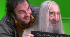 Peter Jackson Pays Tribute to the Late Christopher Lee -- 'Lord of the Rings' and 'Hobbit' director Peter Jackson posts a touching tribute to beloved actor Christopher Lee after he passed away yesterday. -- http://movieweb.com/peter-jackson-christopher-lee-tribute/
