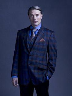 Mads Mikkelsen as Dr. Hannibal Lecter - Hannibal série de televisão fotografia