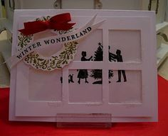 Window Card - Thoughts That Stick . Christmas Popcorn, Christmas In July, Christmas Tag, Christmas Projects, White Christmas, Christmas Decorations, Christmas Ornaments, Meaning Of Creativity, Sock Cupcakes