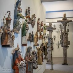 Religious folk carving at the Lithuanian National Museum's New Arsenal - www.ExplorationVacation.net