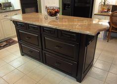 kitchen islands | Custom Kitchen Islands Raleigh NC | Bull Restoration