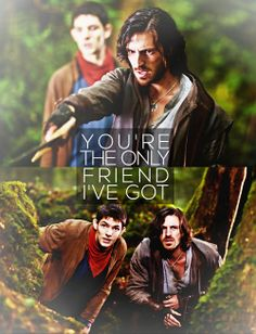 Gwaine&Merlin's friendship. :3<<<<yes! I love it that Gwaine was Merlin's friend. I wish Merlin had told him about magic