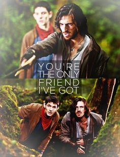 Gwaine&Merlin's friendship. :3