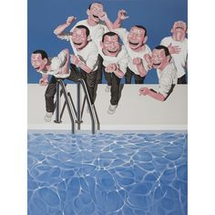 We thought it would be a fun game for us to play - which two characters from Minjun's 'Take the Plunge' will you remove - as during corona time you could hang out with max 4 people. Who would make the cut? 😁 ☀️💧Yue Minjun, Take the Plunge, 2009 Lithograph / Edition of 130 / 120 x 80 cm / Signed & numbered // Interested in this work? Shop online or contact us 💌 info@wengcontemporary.com  📲+41765415658 #YueMinjun #artist #lithograph #edition #art #online #arte #kunst #laughing #smile #asia Yue Minjun, Sculptures For Sale, Global Art, Art Market, Hanging Out, Original Artwork, Polaroid Film, Artist, Prints