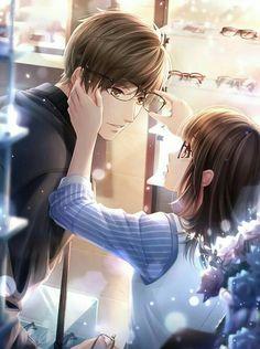 Couple Anime Manga, Romantic Anime Couples, Anime Couples Drawings, Anime Couples Manga, Chica Anime Manga, Anime Love Story, Manga Love, Love Cartoon Couple, Anime Love Couple