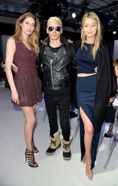 Jared Leto, Doutzen Kroes, Gigi Hadid - Tasting Night With Samsung Galaxy During Paris Fashion Week