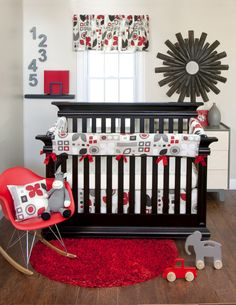 "Glenna Jean ""Piper"" modern crib set."