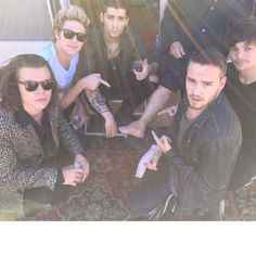 """On the set of """"steal my girl"""" music video"""