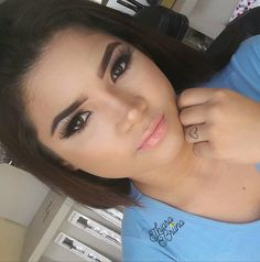 morrendo de amores com essa maquiagem. Gostaram? Simples e iluminada�� Esse batom é da @eudora. �� #makeup #instamakeup #michellypalma#cosmetic #cosmetics #fashion #eyeshadow #lipstick #gloss #mascara #palettes #eyeliner #lip #lips #tar #concealer #foundation #powder #eyes #eyebrows #lashes #lash #glue #glitter #crease #primers #base #beauty #beautiful http://ameritrustshield.com/ipost/1542315752790719804/?code=BVnaAFwlH08