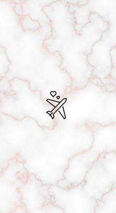 My insta - REzepteInfinity Iphone Wallpaper Travel, Marble Wallpaper Phone, Rose Gold Wallpaper, Iphone Background Wallpaper, Tumblr Wallpaper, Aesthetic Iphone Wallpaper, Instagram Logo, Free Instagram, Instagram Story