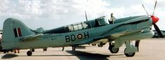 Royal Canadian Navy Fairey Firefly Mk IV.