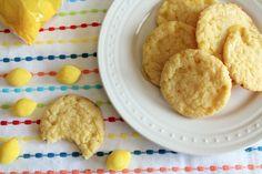 Lemon Drop Candy Cookies  www.bluebonnetsandbrownies.com
