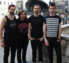 fuck-bastille:  daaaaaanxsmith:  July 15th, 2014  DONT TALK TO ME ABOUT WILL IN THIS BLACK TEE SHIRT
