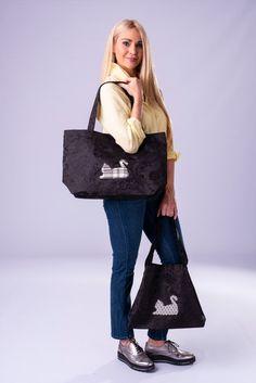 Limited edition handmade bags for cat lovers