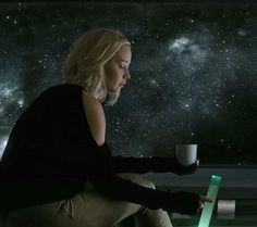 New images of Jennifer Lawrence as Aurora Lane in Passengers.