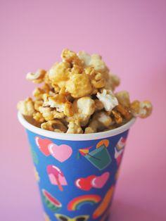 Bake Sale Food: Caramel Popcorn Recipe - Fat Mum Slim
