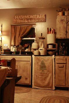 A Great primitive kitchen style