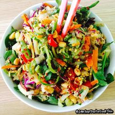 FULLY RAW egan Goi Chay! Vietnamese Cabbage Slaw! Yaaaas! Made with all Organically Grown ingredients: Cilantro (Ngo) Culantro (Ngo Gai) Vietnamese Basil (Rau Que) Mint (Rau Thom) Chive (He) Ginger (Gung) Red Pepper (Ot Hiem) Cucumber Zucchini Spinach Spout Grape Tomato Red Cabbage @BraagLiveFoods ACV & Sea Kelp Seasoning Coconut amino Garlic Peanut Carrot Onion Scallion Cayenne Pepper Jalapeño Homemade Marianna and Compassion! I LOVE Cilantro due to its tastes never failing at refreshing up…