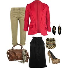 """""""leopard"""" by itsjustme247 on Polyvore"""