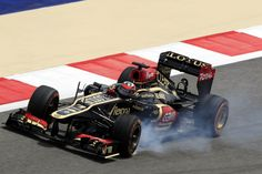 Kimi locking up in FP1