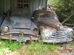 mid 50's Simca & Skoda cars
