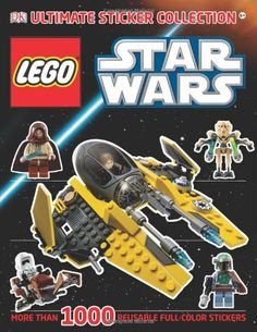 45 Delightful Dk Sticker Books Lego And Star Wars Images In 2019