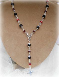 Brigids Rosary  necklace Goddess Brigids by MoonwiseCreationz, $29.99