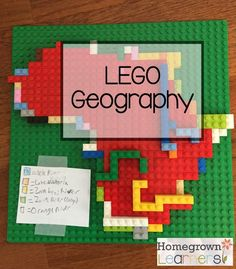Homeschool geography - Using LEGO to Learn Geography – Homeschool geography Geography Activities, Geography Lessons, Lego Activities, Teaching Geography, World Geography, Teaching History, History Education, Geography Classroom, Earth Science Activities