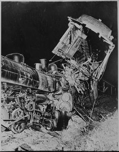 Thirty yards or so down the track, the respective engineers would throw their trains' throttles wide open, and the crews would jump to safety. Trains, Runaway Train, Train Tour, Abandoned Train, Railroad Photography, Train Art, Boston Public Library, Train Pictures, Train Engines