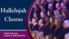 """Hallelujah Chorus"" First Dallas Choir & Orchestra Psalm 139, Psalms, Blues Music, Pop Music, Bright Morning Star, Persecuted Church, Lord Is My Strength, Joy Of The Lord, Reggae Music"