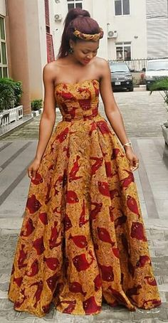 Custom Made African print dress, Ankara Gown Dress/African clothing/African wax print dress/African dress/African/African wedding dress/Ankara dresses Long African Dresses, African Wedding Dress, African Fashion Dresses, Ghanaian Fashion, African Dress Styles, Ankara Fashion, Nigerian Fashion, African Weddings, African Clothes