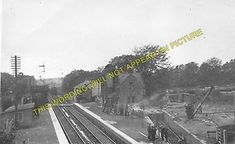 A photograph of the Caledonian Railway station at Ecclefechan. Ebay, Image
