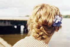 * Summer hair . . .