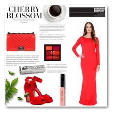 """""""DesirVale 7"""" by miinni ❤ liked on Polyvore featuring Chanel, Alexander McQueen, NYX and Bobbi Brown Cosmetics"""