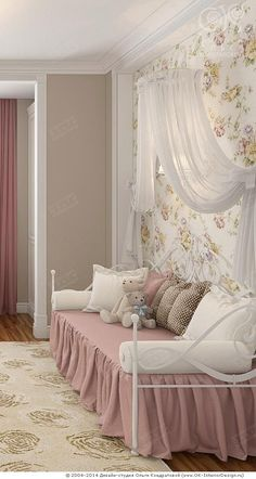 Princess bedroom inspirations | Achieve an enchanted room for your little princess with the most amazing inspirations and ideas at: CIRCU.NET