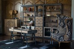 french heritage-french furniture-french office