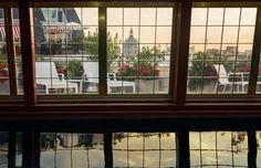 annstreetstudio:  Early morning swims…