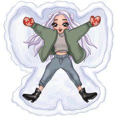 Ariana Grande Anime, Ariana Grande Drawings, Ariana Grande Wallpaper, Dangerous Woman Tour, Insta Icon, Emoji Wallpaper, Manga Art, Barbie Dolls, Funny Stickers