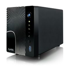 ZyXEL 2-Bay High-Performance Digital Media Server and Network Attached Storage (NSA325) (760559119829) Superior performance powers multiple HD streaming zMedia enables mobile media streaming and NSA configuration at home Dropbox support offers remote backup and downloading everywhere USB 3.0 port provides faster backup from USB devices All-in-one backup solution protecting valuable user data Advanced green NSA with Wake-on-LAN, power scheduling and hard disk hibernation for energy ...