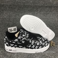 NIKE AIR FORCE 1 07 QS LOGO PRINT 555106-003 Top Deals a7cd32595464