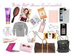 """Ariana travel essentials"" by ariana-grande-style-100 ❤ liked on Polyvore"