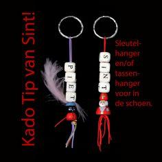 gelukspoppetje TIP schoenkado van Sinterklaas: sleutel en/of tassenhanger.
