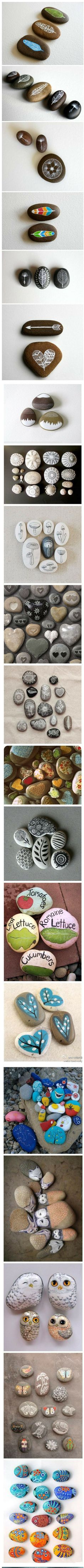 Great pebble art designs for decorations
