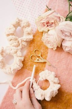 Free Patterns Archives - Darling Jadore - DIY Accessories - hair scrunchies DIY yarn Best Picture For hair scrunchie scarf For Your Taste You are looking for - Crochet Hair Accessories, Diy Fashion Accessories, Crochet Hair Styles, How To Make Scrunchies, Diy Hair Scrunchies, Velvet Scrunchie, Velvet Hair, Hair Ties, Diy Hairstyles