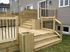 Multi-stage Patios – Wood Patio - All About Patio Bar, Wood Patio, Concrete Patio, Backyard Patio Designs, Backyard Pergola, Pergola Roof, Pergola Kits, Patio Plans, Brick Patios