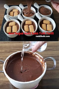 Dessert In A Mug, Cake Recipes, Dessert Recipes, Tasty, Yummy Food, Food Platters, Arabic Food, No Bake Desserts, Easy Meals