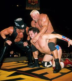 Scott Steiner vs. Chris Adams and Buff