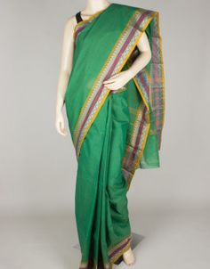Handloom Cotton Saree without Blouse-271