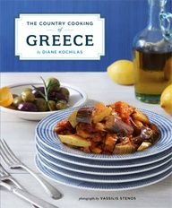 The Country Cooking of Greece captures all the glory and diversity of Greek cuisine in one magnum opus from Greece's greatest culinary authority, Diane Kochilas. More than 250 recipes were drawn from every corner of Greece, from rustic tavernas Greek Cookbook, Greek Dinners, Macedonian Food, Greek Cooking, New Cookbooks, Country Cooking, Greek Salad, Greek Recipes, Gourmet Recipes