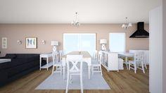 Roomstyler.com - kuchnia i salon wersja 2